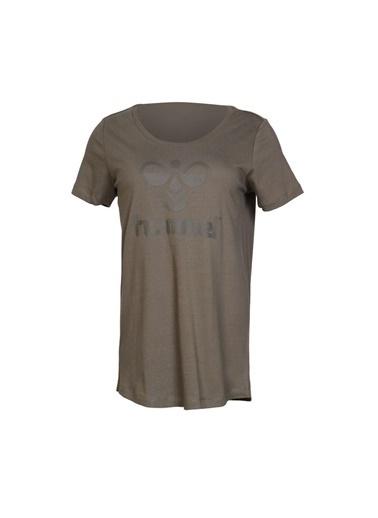 Hummel Kadın Tişört Ridade 910673-6119 Yeşil